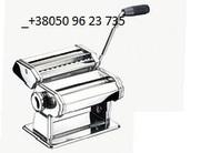 Лапшерезка механическая с раскаткой теста.