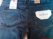 Мужские джинсы большого размера,  цвет темно-синий