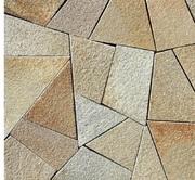 Мозаика из песчаника природного.