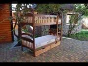 Двухъярусная детская кровать-трансформер Карина