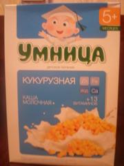 Молочные каши и смесь