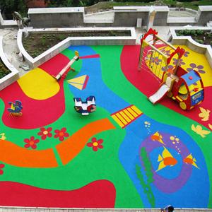 покрытия для детских и спортивных площадок.