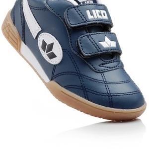 Влагостойкие кроссовки синего цвета на