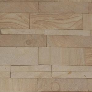 Фасадно-стеновая нарезка-лапша из песчаника природного.