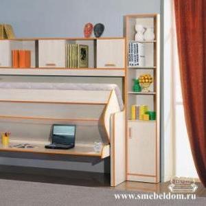 Кровать-стол на заказ Донецк. Дизайн,  кредит