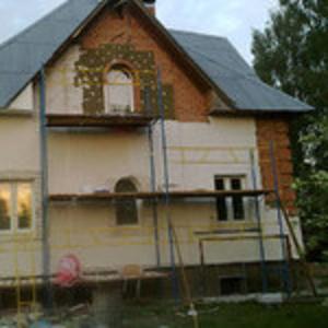Утепление домов,  коттеджей,  офисов в Донецке и Макеевке