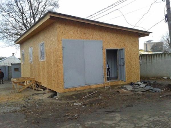 Строительство складов,  хранилищ,  офисных помещений. 4