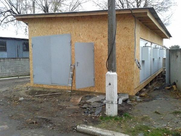 Строительство складов,  хранилищ,  офисных помещений. 5