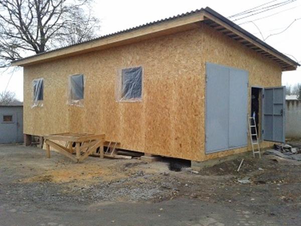 Строительство складов,  хранилищ,  офисных помещений. 6