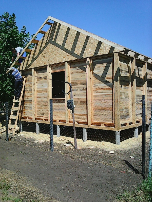 Строительство садовых,  дачных,  гостевых домов.  6