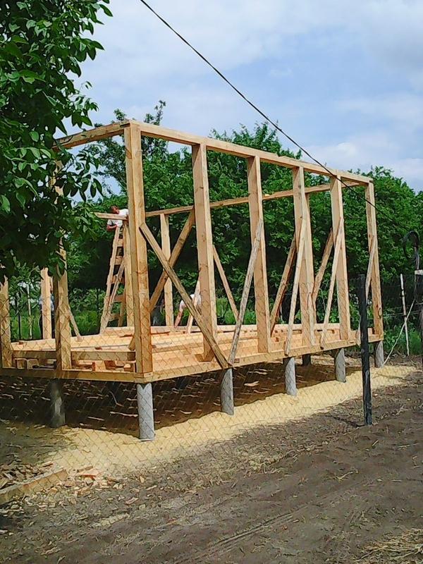 Строительство садовых,  дачных,  гостевых домов.  7