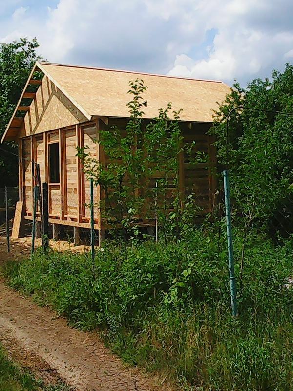 Строительство садовых,  дачных,  гостевых домов.  3