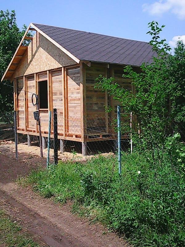 Строительство садовых,  дачных,  гостевых домов.  2