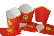 Коробочки для картошки фри,  гамбургеров,  пастабоксы